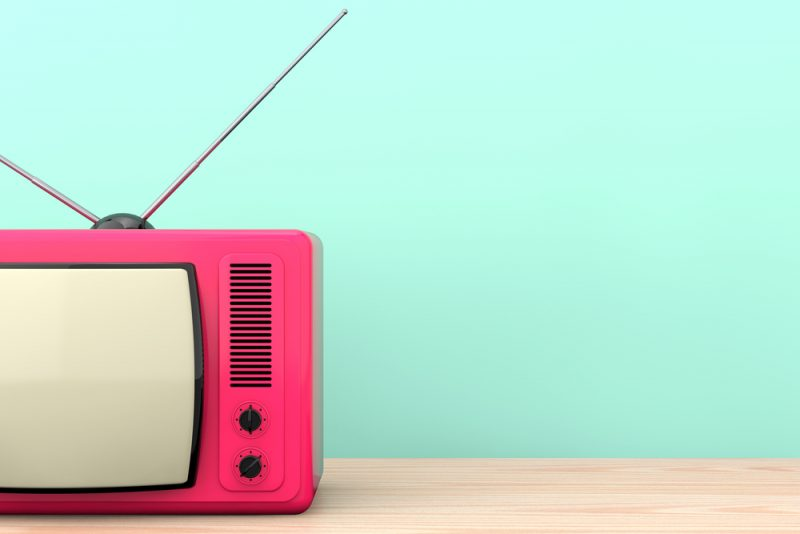 retro TV istorija televizora
