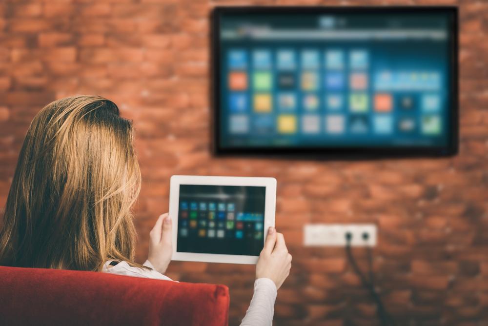 smart tv povezan s tabletom