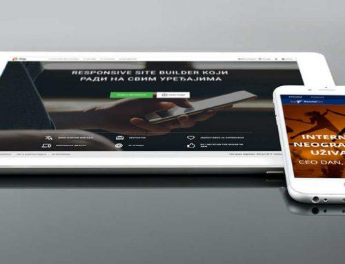 Kako napraviti besplatan sajt?