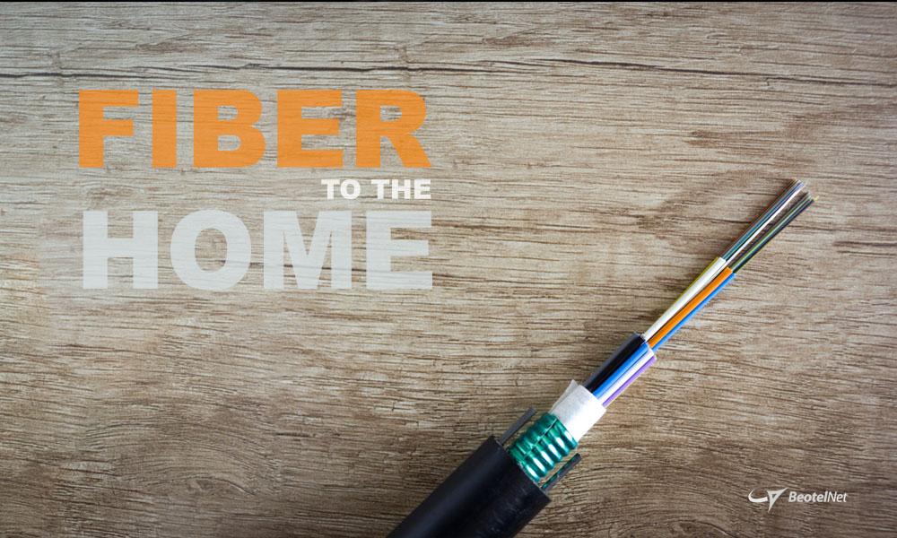 Optički internet - Fiber to the home (FTTH)