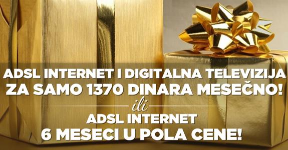Najpovoljniji internet paketi - ADSL akcije BeotelNet-a